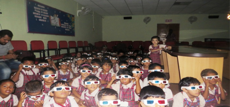 Edutainment Show (3-D) for Pre-Primary Classes