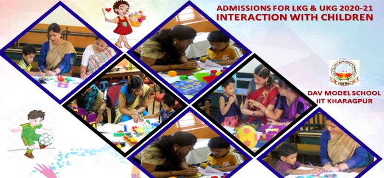 ADMISSION FOR LKG & UKG 2020-21
